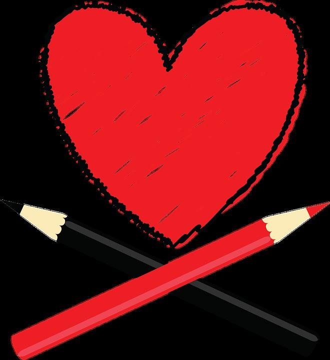 https://pixabay.com/en/heart-love-red-black-pencil-894184/