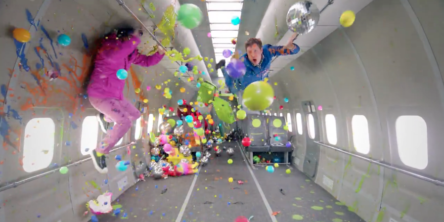 The Physics Behind the Newest OK Go Video