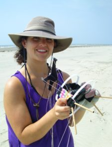 Kites Reveal Clues about Coastal Change