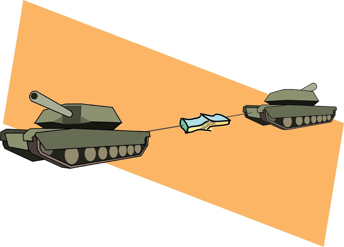 Why it Takes Tanks to Separate Two Phone Books