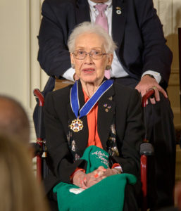 https://commons.wikimedia.org/wiki/File:Katherine_Johnson_medal.jpeg