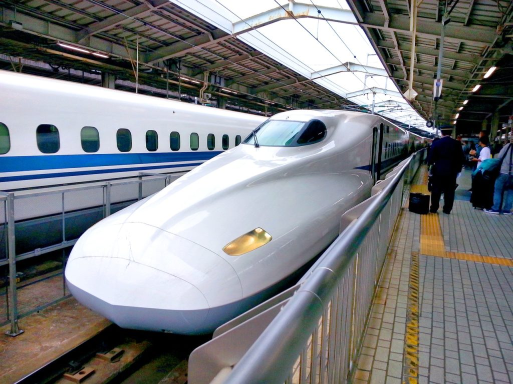 https://pixabay.com/photos/bullet-train-shinkansen-railway-1540467/