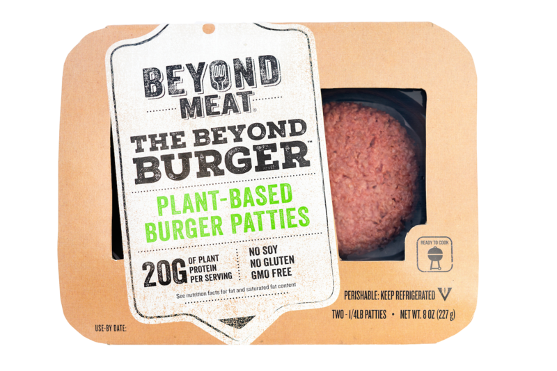 A plant-based alternative. https://commons.wikimedia.org/wiki/File:Beyond_Burger_packaging.png